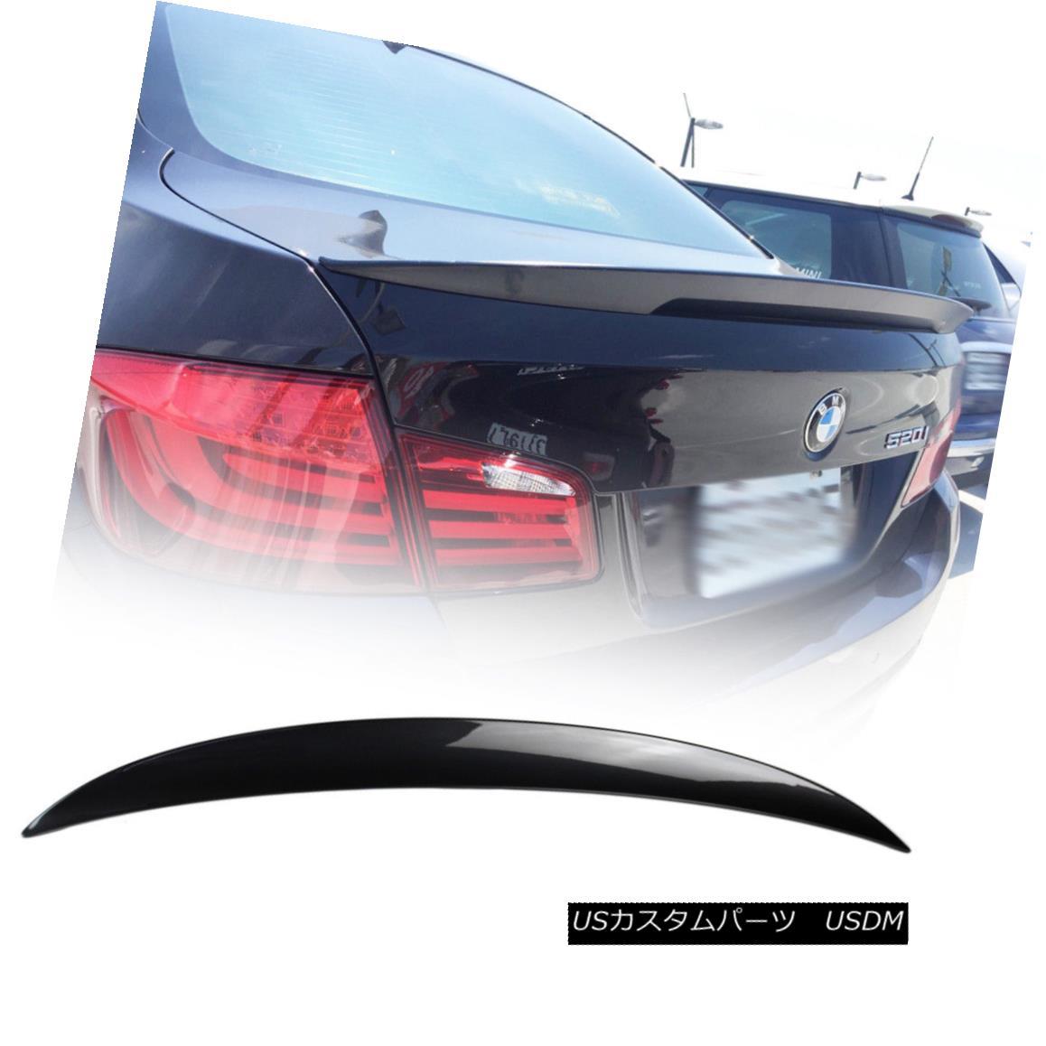 エアロパーツ BMW 5-Series F10 High Kick Performance P Trunk Spoiler 520i 550i Painted #A90 BMW 5シリーズF10ハイキックパフォーマンスPトランク・スポイラー520i 550i塗装#A90