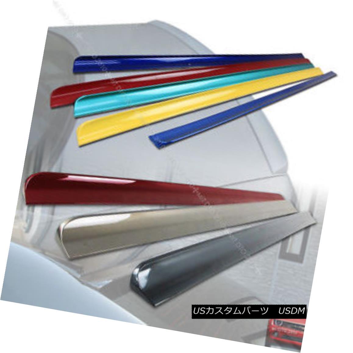 エアロパーツ Painted FOR LEXUS ES350 ES240 XV40 Sedan Rear Roof Spoiler +Trunk Lip Spoiler§ 塗装済みレクサスES350 ES240 XV40セダンリアルーフスポイラー+トランクリップスポイラー