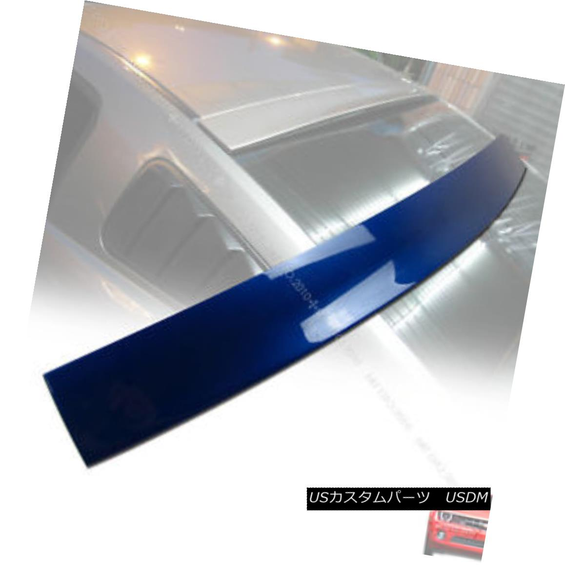 エアロパーツ Ford Mustang 2DR Coupe Rear Roof Spoiler Wing Painted 2005-2014 § フォードマスタング2DRクーペリア屋根スポイラー翼2005-2014塗装