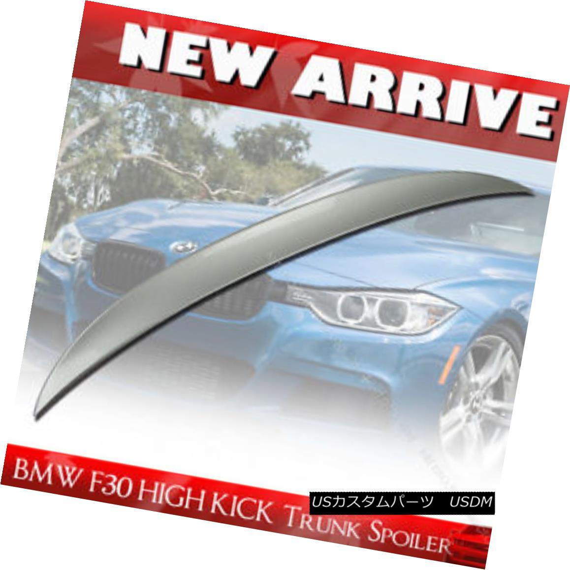 エアロパーツ Painted Performance Type Trunk Spoiler for BMW 3ER F30 HIGH KICK REAR WING BMW 3ER F30 HIGH KICKリアウイング用ペイントされたパフォーマンスタイプのトランク・スポイラー