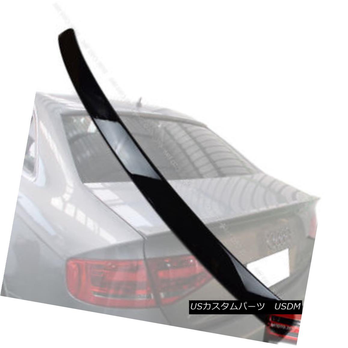 エアロパーツ Painted AUDI A4 B8 Rear Roof Spoiler Wing NEW 09 10 11 § 塗装AUDI A4 B8リアルーフスポイラーウイングNEW 09 10 11