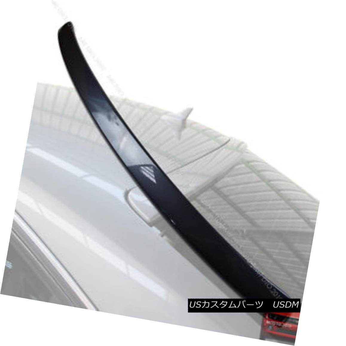 エアロパーツ Painted 10 11 AUDI A4 B8 Rear Roof Spoiler Wing LX7Z § 塗装10 11 AUDI A4 B8リアルーフスポイラーウイングLX7Z