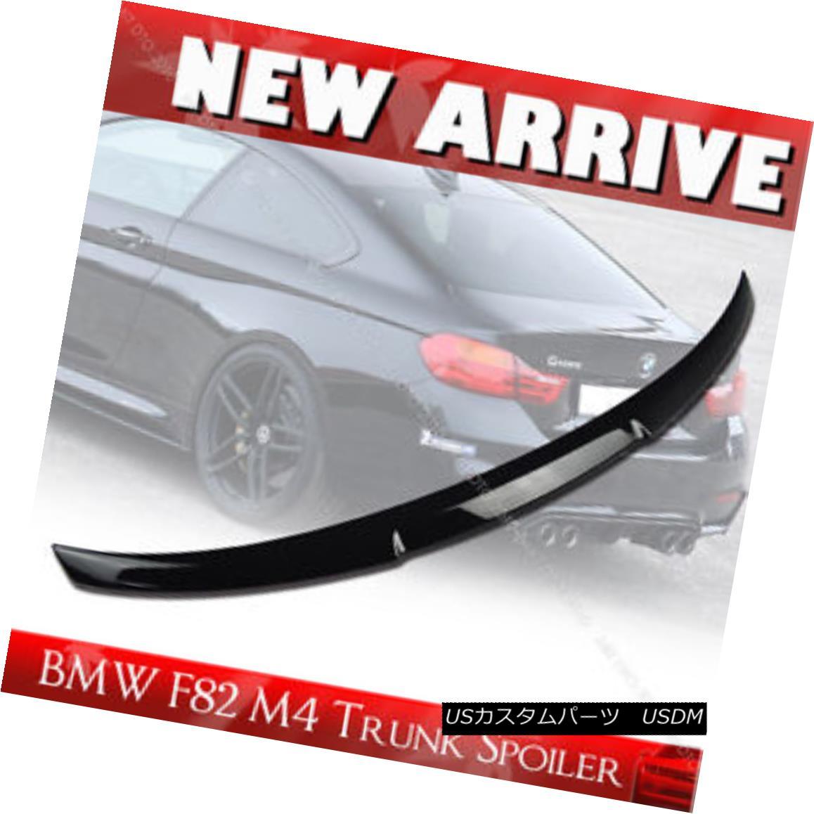 エアロパーツ Painted For BMW 4 Series F82 M4-Type Rear Trunk Spoiler Wing ABS 2DR BMW 4シリーズF82 M4タイプリアトランクスポイラーウィングABS 2DR