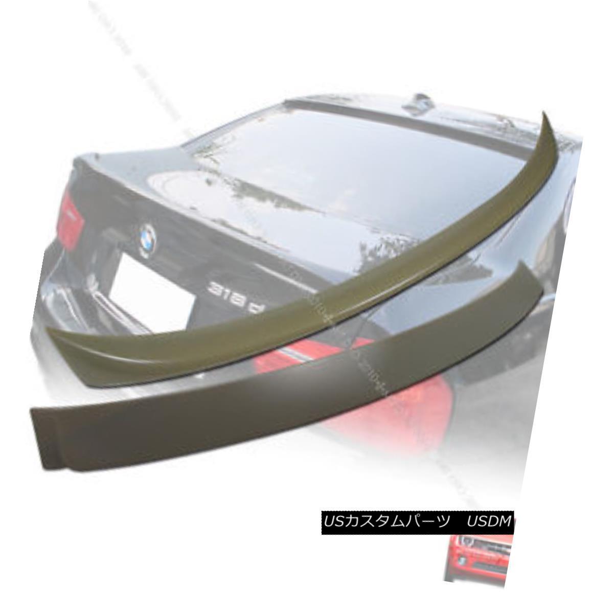 エアロパーツ E90 BMW OE Style 06 08 10 3-Series Trunk Spoiler & A Style Roof Spoiler § E90 BMW OEスタイル06 08 10 3シリーズトランク・スポイラー& スタイルルーフスポイラー