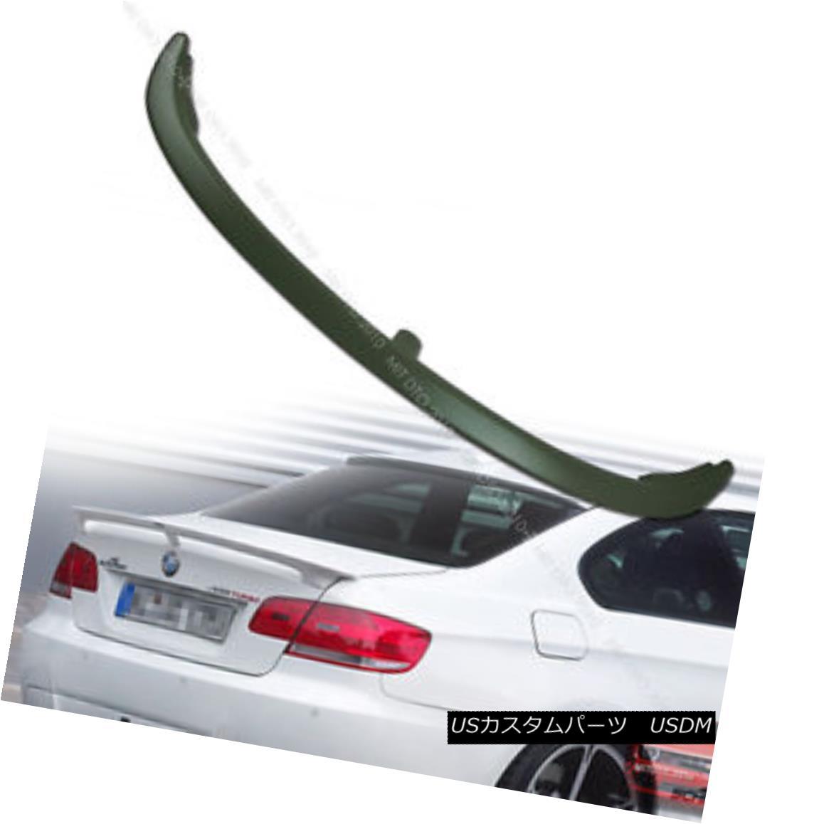 エアロパーツ E92 3-Series BMW A Type Trunk Spoiler Rear Wing 07 13 Unpainted § E92 3シリーズBMW Aタイプトランクスポイラーリアウイング07 13未塗装