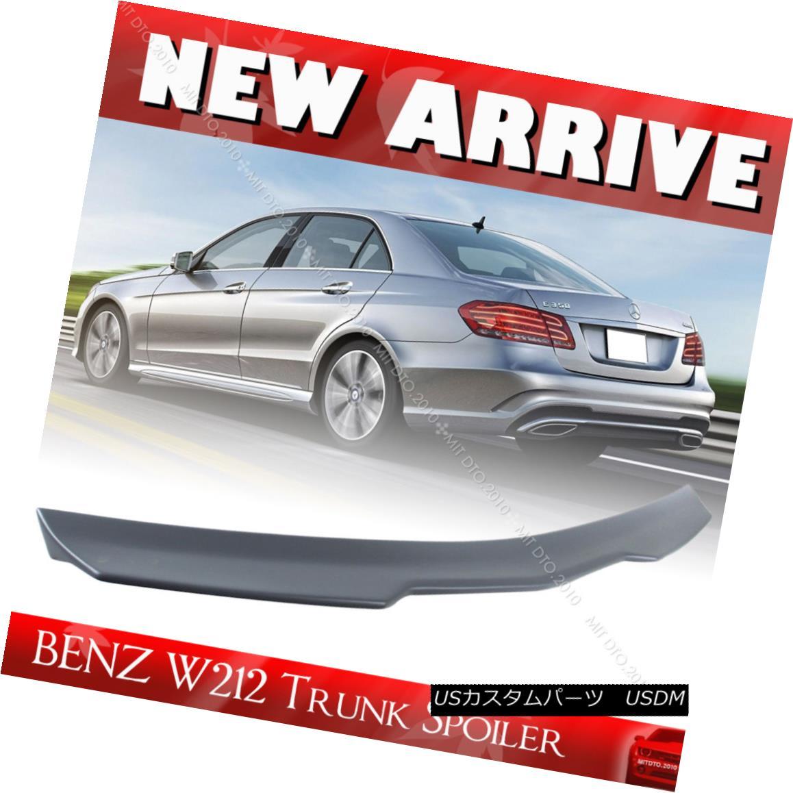 エアロパーツ Painted Color Mercedes BENZ E W212 Sedan V Style Trunk Spoiler E63AMG E400 2016 ペイントカラーメルセデスベンツE W212セダンVスタイルトランクスポイラーE63AMG E400 2016