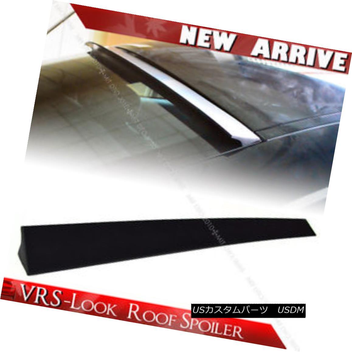 エアロパーツ Unpainted For Dodge Avenger Sedan Rear New VRS-Look Roof Lip Spoiler 2014 ドッジ・アヴェンジャー・セダン・リア新VRSルックルーフ・リップ・スポイラー2014の未塗装