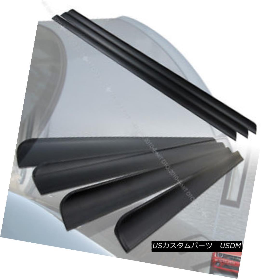 エアロパーツ Unpainted FOR LEXUS ES350 ES240 XV40 Sedan Rear Roof Spoiler +Trunk Lip Spoiler§ 未塗装のレクサスES350 ES240 XV40セダンリアルーフスポイラー+トランクリップスポイラー