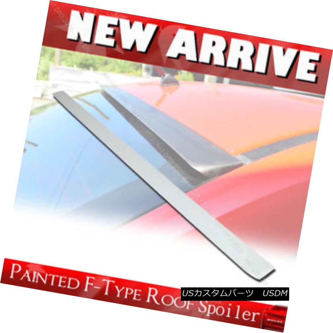 エアロパーツ 09-13 Painted For Acura TSX CU2 4DR Sedan F-Type Rear Roof Spoiler Wing § 09-13アキュラTSX CU2 4DRセダンF型リアルーフスポイラーウイングPain