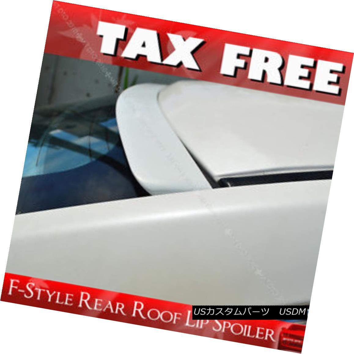 エアロパーツ Painted Rear Roof Lip Spoiler Wing F-Style for NISSAN Sentra B16 Sedan 07-12 § NISSAN Sentra B16セダン07-12 Painの塗装済みリアルーフリップスポイラーウィングFスタイル