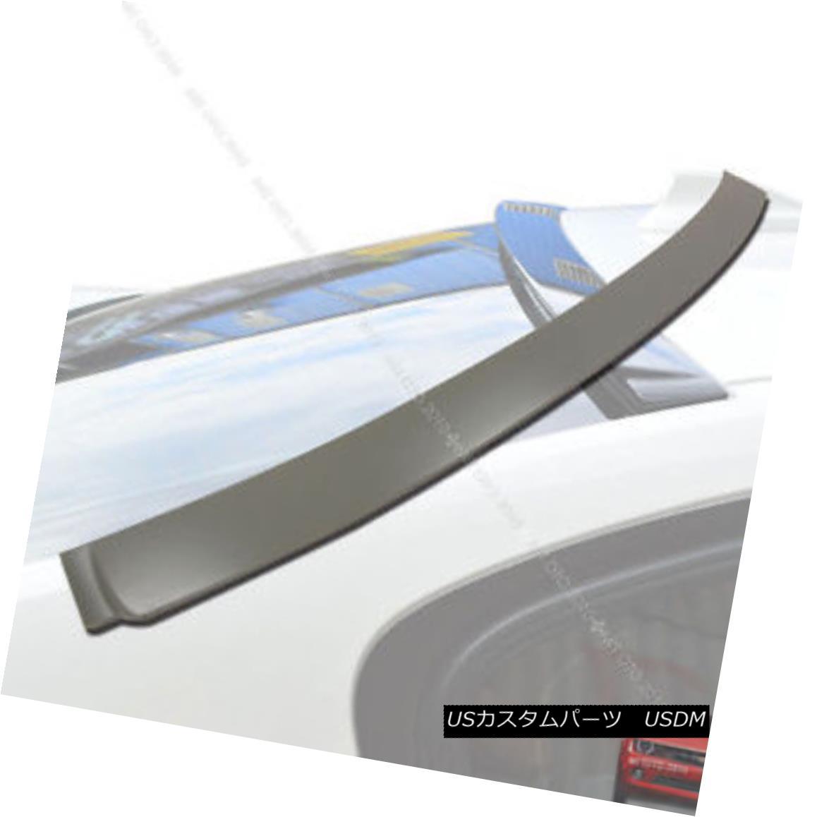 エアロパーツ Unpainted 4DR A-Type Rear Roof Spoiler for BMW F80 M3 Model 2014+ § BMW F80 M3モデル2014+用未塗装4DR A型リアルーフスポイラー