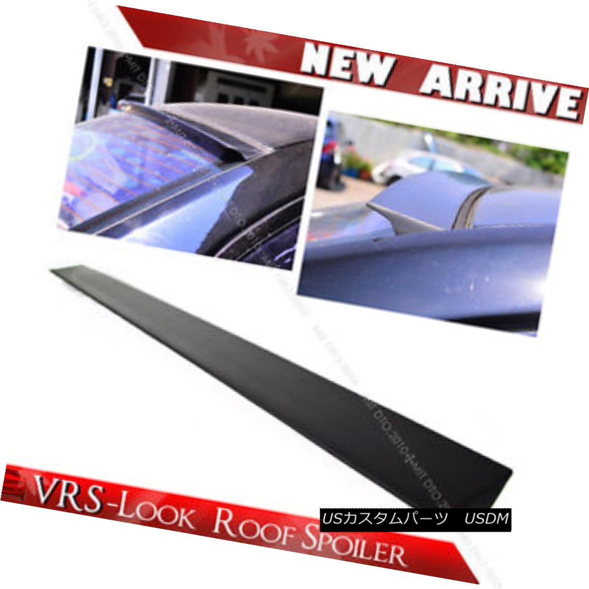 エアロパーツ Unpainted 11-16 For BMW 6-Series F13 Coupe VRS-Style Window Roof Lip Spoiler 未塗装11-16 BMW 6シリーズF13クーペ用VRSスタイル窓ルーフ・リップ・スポイラー