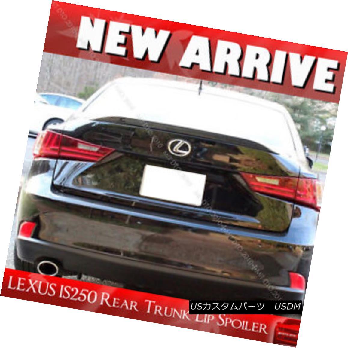 エアロパーツ Painted for Lexus IS250 IS350 IS F Window Rear Trunk Lip Spoiler #202 BLACK § レクサスIS250 IS350 IS Fウインドリアトランクリップスポイラー#202 BLACK Pain