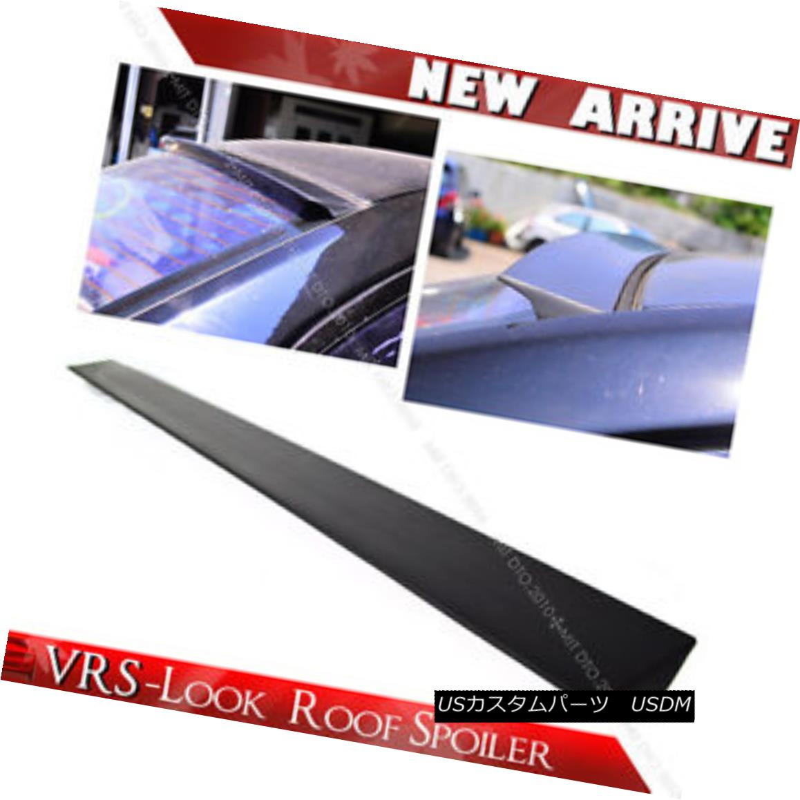 エアロパーツ Unpaint 2014 FORD Mustang 5th Coupe VRS V-Style Roof Lip Window Spoiler Unpaint 2014 FORD Mustang 5th Coupe VRS V-Styleルーフリップウインドウ・スポイラー
