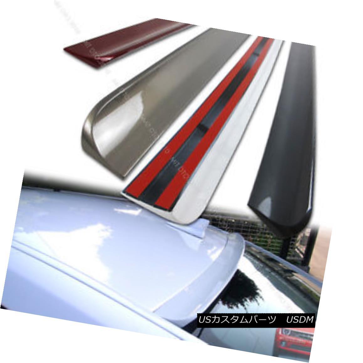 エアロパーツ Painted 1999-2006 For Window Rear Roof Lip Spoiler Wing Audi TT 8N 2DR Coupe PUF ウインドリアルーフスポイラーウィングアウディTT 8N 2DRクーペPUF