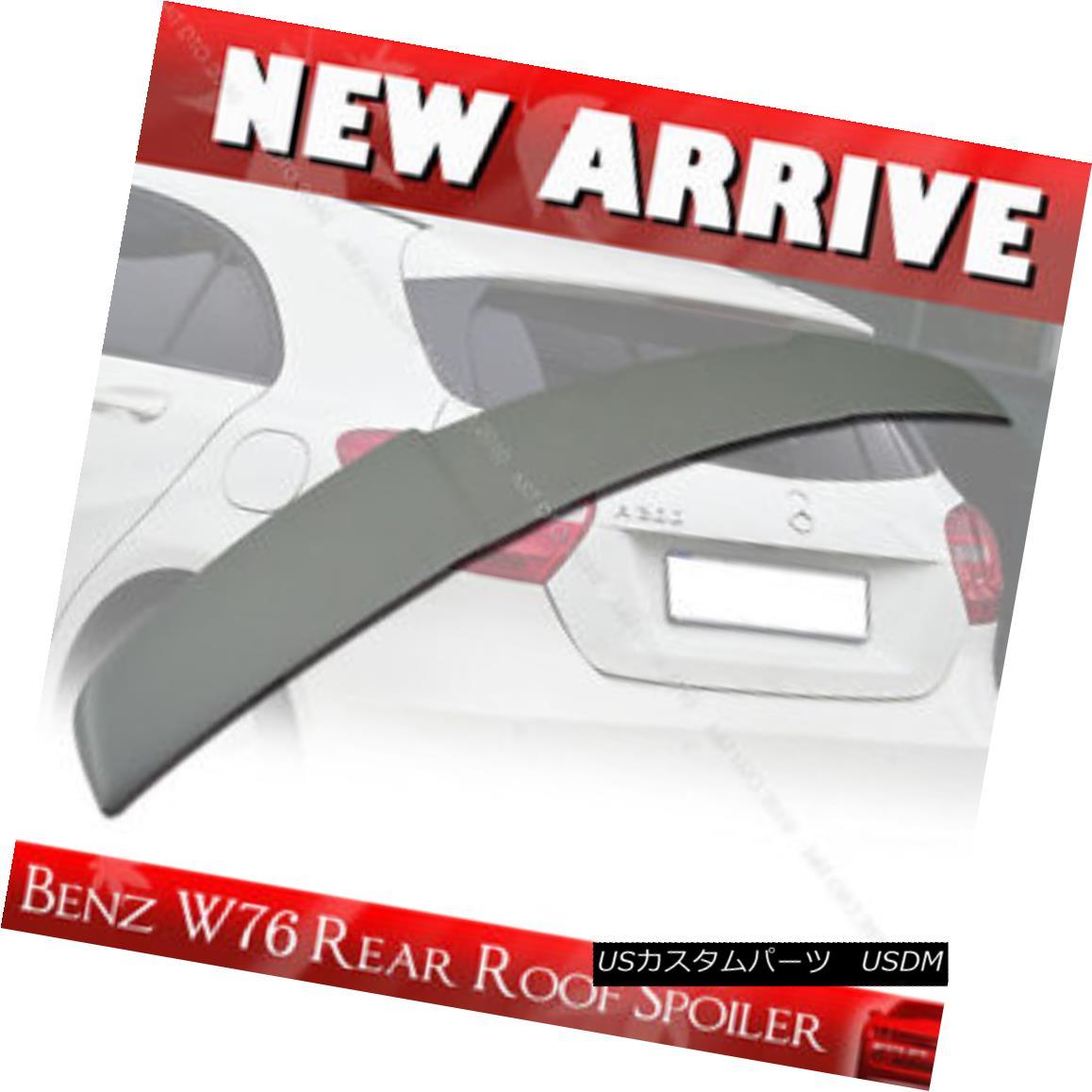エアロパーツ Primer Paintable Mercedes BENZ W176 A-Class FRP A200 Rear Roof Spoiler§ プライマーペインタブルメルセデスベンツW176 AクラスFRP A200リアルーフスポイラー