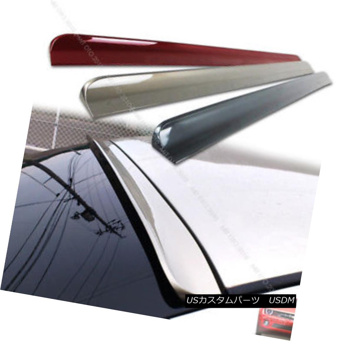 エアロパーツ Painted 2009-2012 For Window Rear Roof Lip Spoiler Wing Audi A4 B8 4DR Sedan ウインドリアルーフスポイラーウイングアウディA4 B8 4DRセダン
