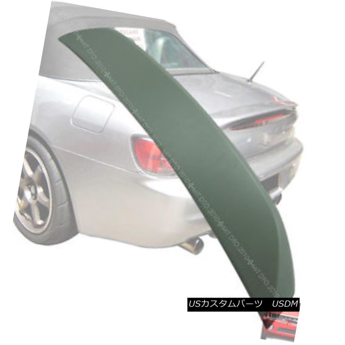 エアロパーツ For Honda S2000 OE style Boot Trunk Spoiler Wing 2000-2009 Unpainted ホンダS2000 OEスタイル用Boot Trunk Spoiler Wing 2000-2009未塗装