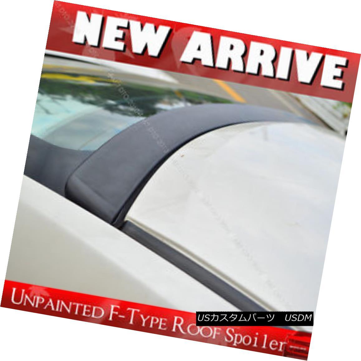 エアロパーツ UNPAINTED ACURA TL III 4DR Sedan F-Type REAR ROOF LIP SPOILER 2004~2008 § UNPAINTED ACURA TL III 4DRセダンF型リアルーフリップスポイラー2004?2008