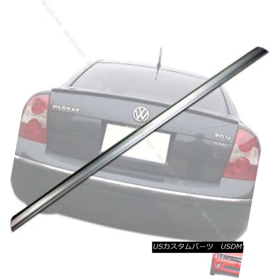 エアロパーツ VW Passat REAR TRUNK LIP SPOILER 3B/B5 LA7W PAINTED § VW Passatリアトランクリップスポイラー3B / B5 LA7W PAINTED