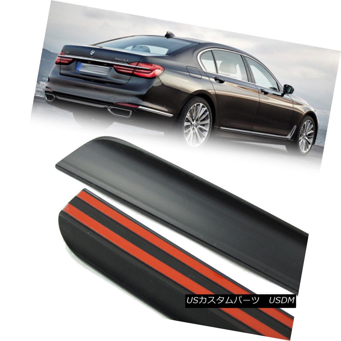 エアロパーツ 2018 For BMW 7-Ser G11 G12 4DR Sedan Rear Trunk Lip Spoiler Wing Painted PUF 2018 BMW 7-Ser G11 G12 4DRセダンリアトランクリップスポイラーウイング用PUF