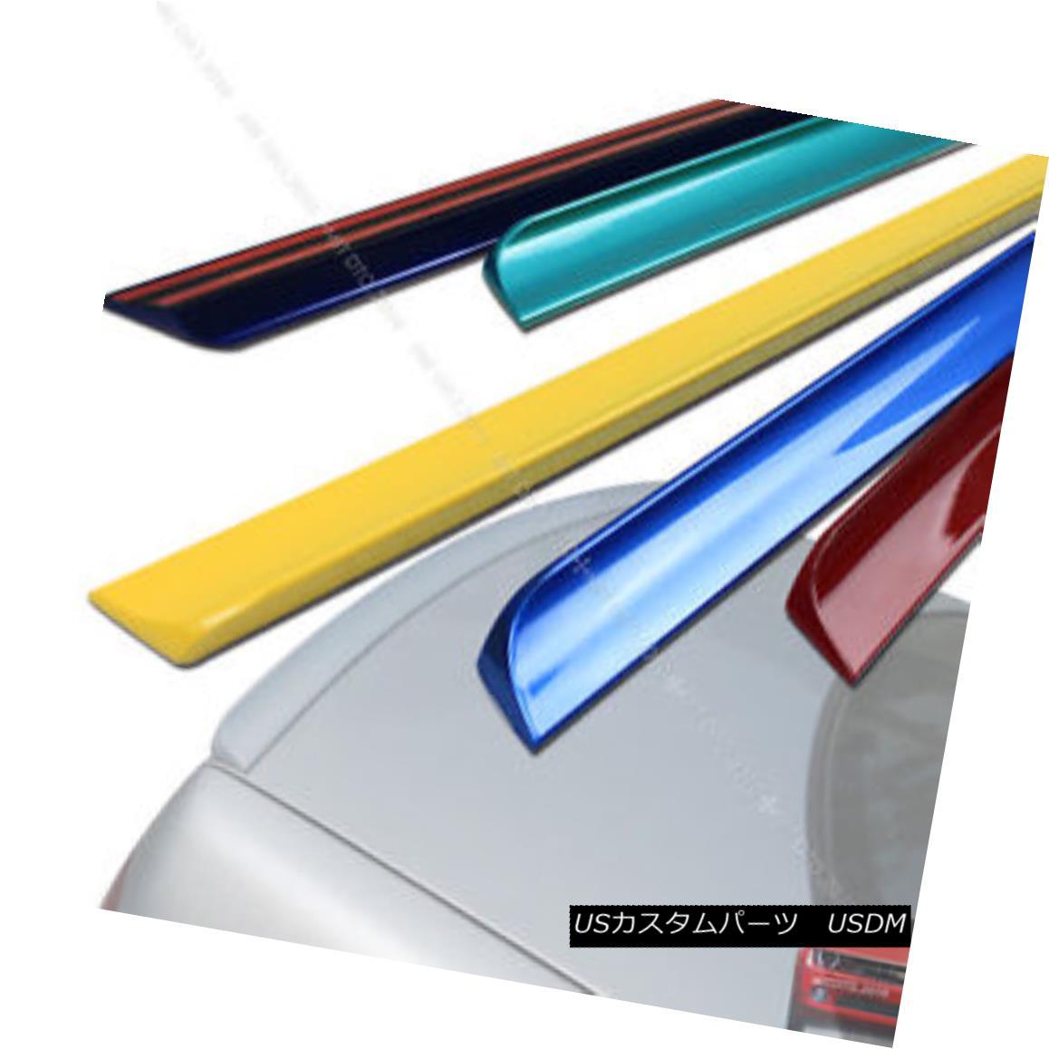 エアロパーツ 98-05 Painted For Lexus IS200 IS300 Rear Trunk Lip Spoiler Wing 202 Black 98-05レクサス用IS200 IS300リアトランクリップスポイラーウイング202ブラック