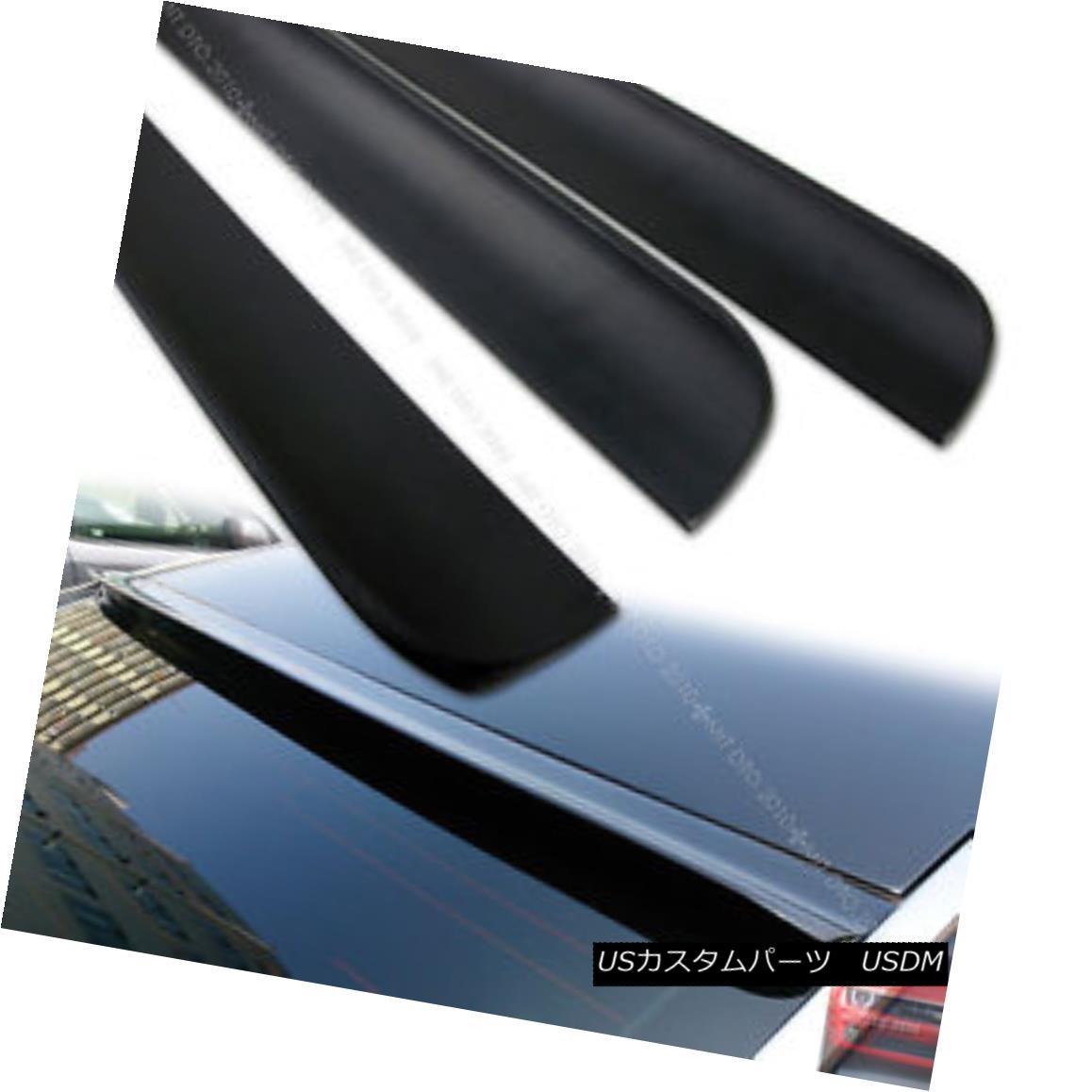 エアロパーツ Unpainted For Rear Roof Lip Spoiler Wing Audi A4 B7 4DR Sedan 2006-2008 リアルーフリップスポイラーウイングアウディA4 B7 4DRセダン2006-2008用未塗装