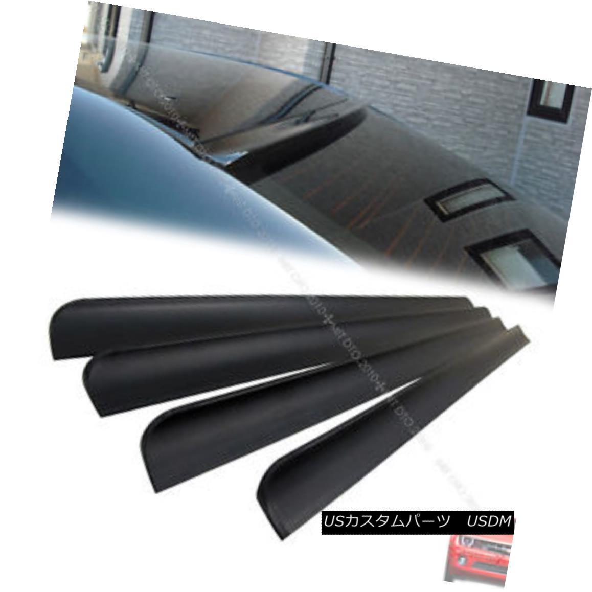 エアロパーツ UNPAINTED Chevrolet Malibu 7th 4DR Rear Roof Window Spoiler 08-12 § UNPAINTEDシボレーマリブ7th 4DRリアルーフウィンドウスポイラー08-12