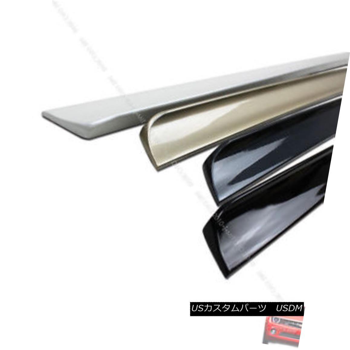 エアロパーツ For Acura 2004-2008 TL Rear Trunk Lip Spoiler Painted Code #NH700M アキュラ2004-2008 TLリアトランクリップスポイラー塗装コード#NH700M