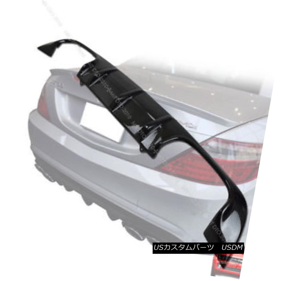 エアロパーツ Carbon Fiber Mercedes BENZ R172 SLK250 SLK350 REAR BUMPER DIFFUSER§ 炭素繊維メルセデスベンツR172 SLK250 SLK350リアバッフルディフューザー