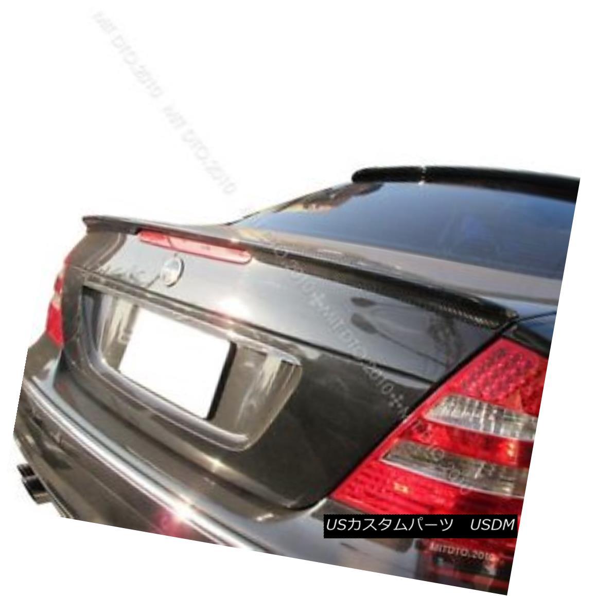 エアロパーツ Carbon Fiber Mercedes Benz W211 E A TYPE Trunk Spoiler Rear Wing 炭素繊維メルセデスベンツW211 Eタイプトランクスポイラーリアウイング