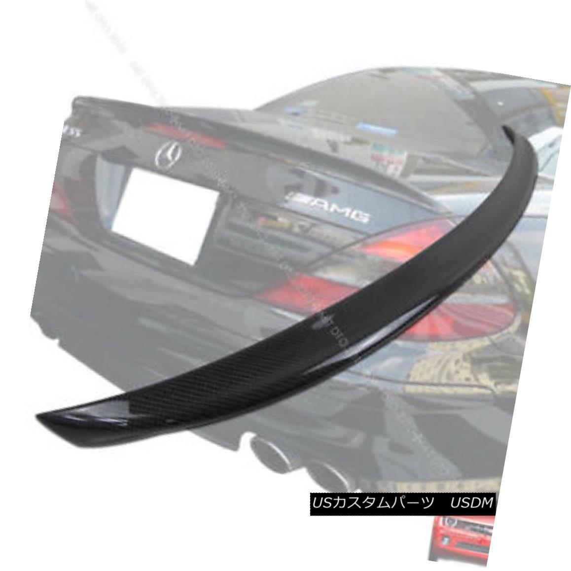 エアロパーツ Carbon Fiber Mercedes BENZ R230 A Trunk Spoiler Rear Wing 03-11 炭素繊維メルセデスベンツR230トランクスポイラーリアウイング03-11