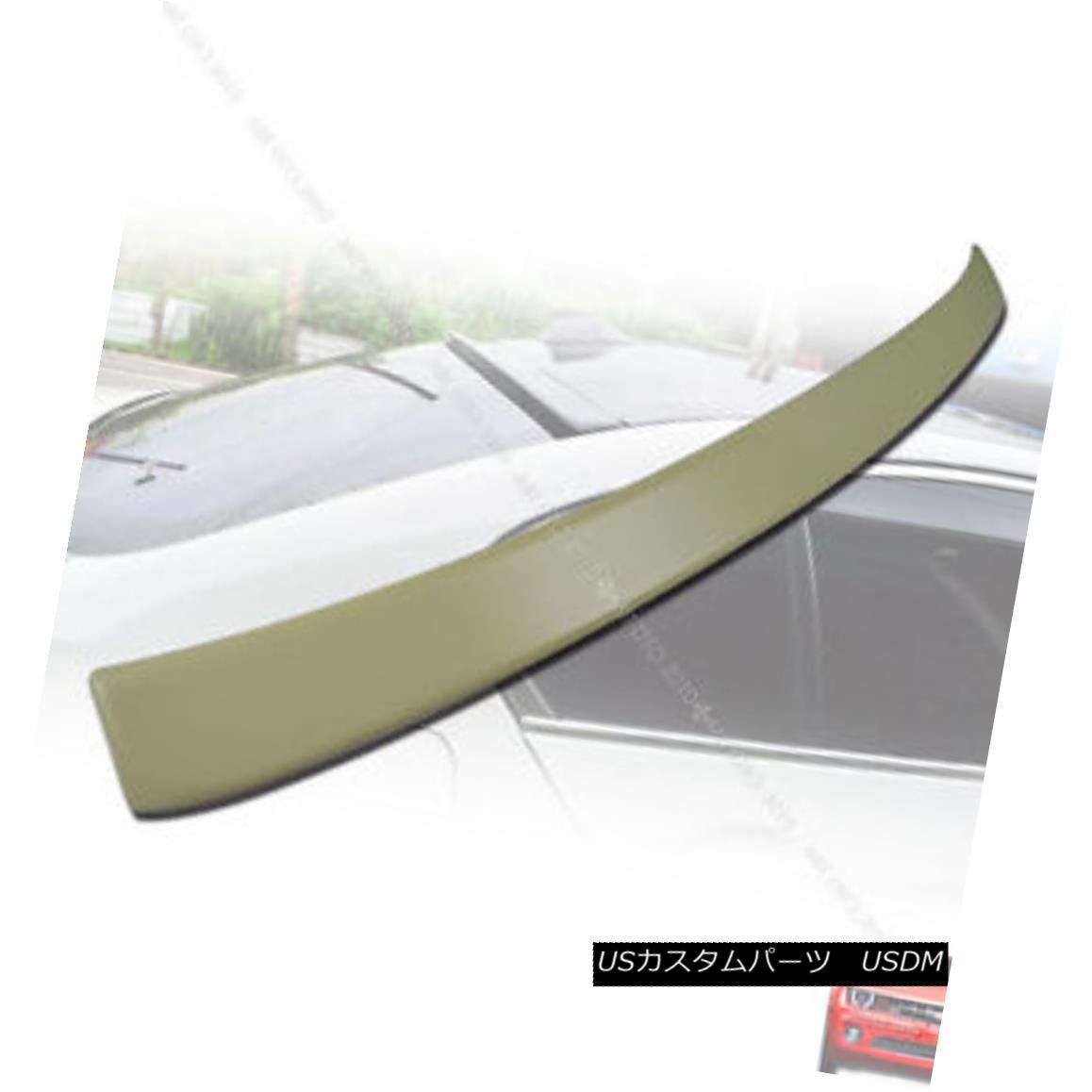 エアロパーツ SHIP FROM LA- BMW 5-Series Unpainted F10 A Type Roof Spoiler Wing 2010+ M Sport 船からLA-BMW 5-Series Unpainted F10 Aタイプルーフスポイラーウィング2010+ Mスポーツ