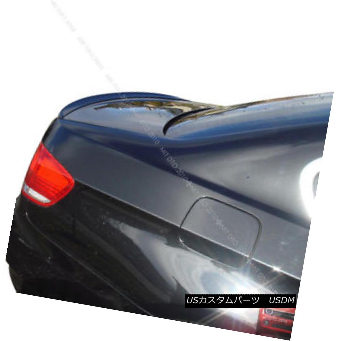 エアロパーツ SHIP FROM LA E92 BMW M3-Type Painted 2dr Trunk lip Spoiler Color #668 black 船からLA E92 BMW M3タイプ塗装2drトランクリップスポイラーカラー#668黒