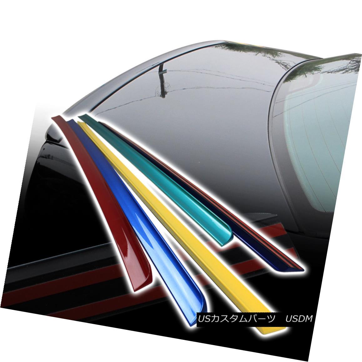 エアロパーツ For ACURA 04-08 TSX Sedan Rear Trunk Lip Spoiler Wing Painted PUF ACURA 04-08 TSXセダンリアトランクリップスポイラーウイング用PUF
