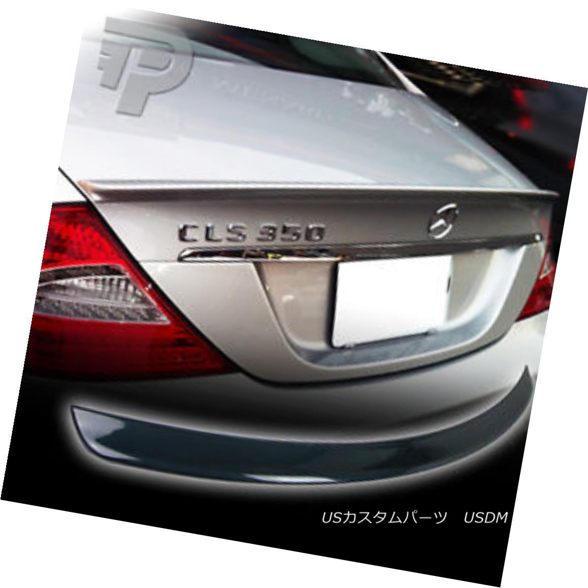 エアロパーツ PAINTED Mercedes BENZ W219 A REAR TRUNK BOOT SPOILER 04+ 744 SILVER ▼ 塗装されたメルセデスベンツW219リアトランクブーツスポイラー04 + 744シルバー?