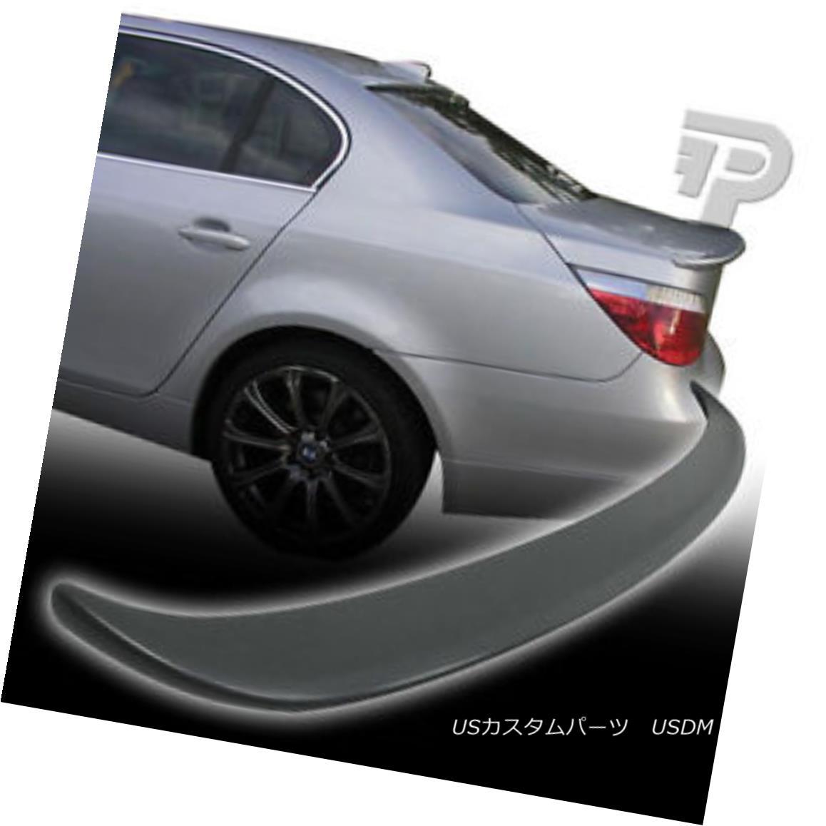 【全商品オープニング価格 特別価格】 エアロパーツ BMW E60 4DR SEDAN A STYLE REAR BOOT TRUNK SPOILER 4D 04-10 BMW E60 4DRセダンスタイルリヤブーツトランクスポイラー4D 04-10, 新篠津村 1510d29c