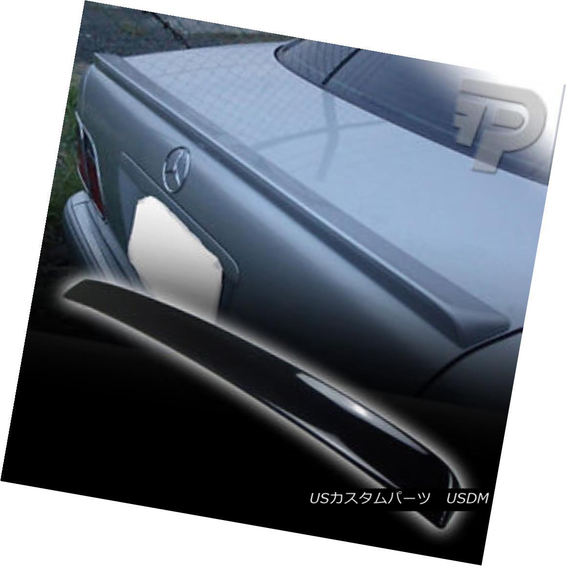 エアロパーツ PAINTED W210 Mercedes BENZ REAR TRUNK SPOILER BOOT SEDAN 040 BLACK ▼ ペイントW210メルセデスベンツリアトランクスポイラーブーツセダン040ブラック?