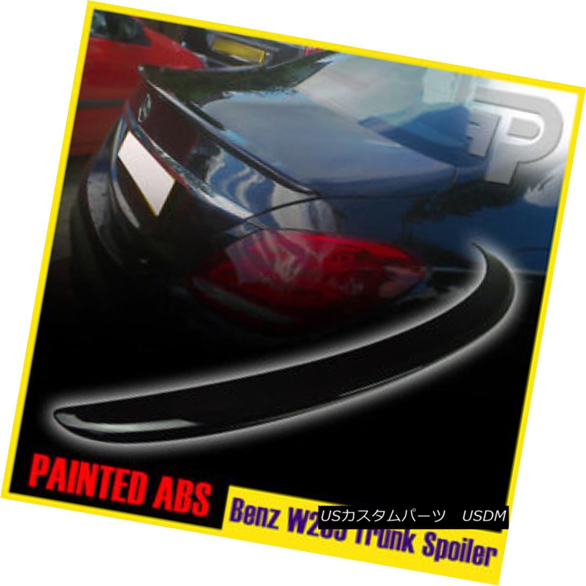 エアロパーツ PAINTED #040 MERCEDES BENZ C-CLASS W205 A TYPE REAR TRUNK SPOILER WING SEDAN▼ 塗装#040メルセデスベンツCクラスW205 Aタイプリヤトランクスポイラーウイングセダン?