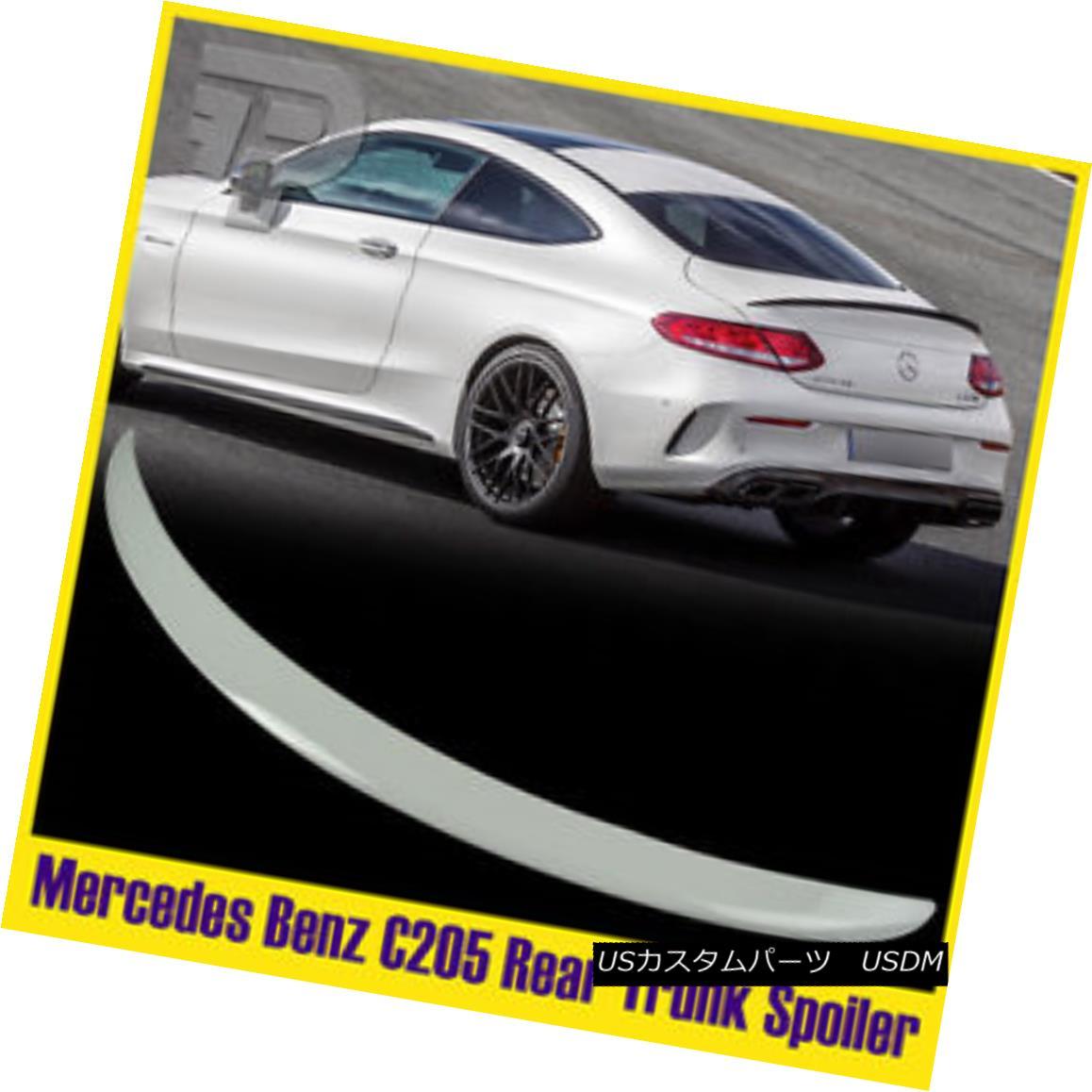 エアロパーツ Painted #149 Mercedes BENZ C-Class C205 2DR AM-Look Trunk Spoiler COUPE 塗装#149メルセデスベンツCクラスC205 2DR AMルックトランクスポイラーCOUPE