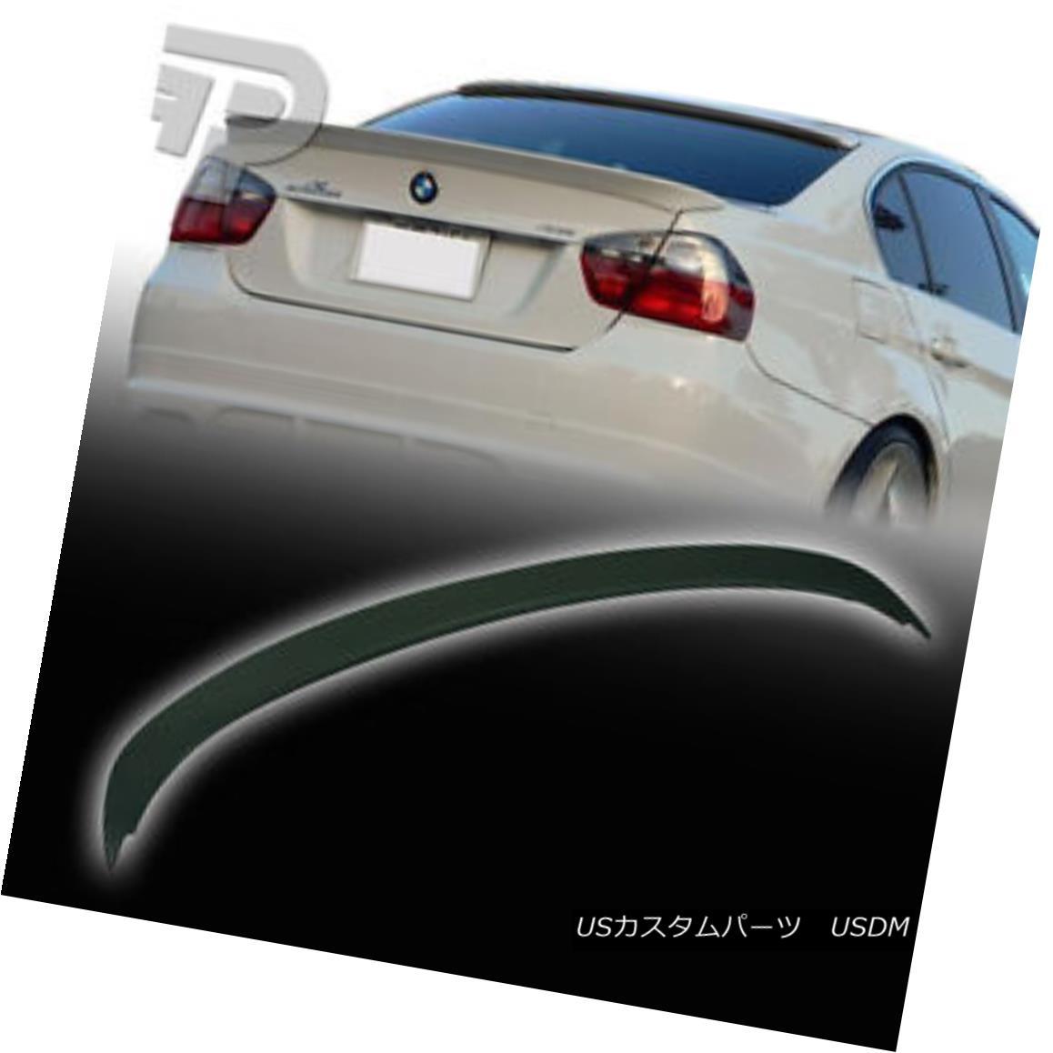 エアロパーツ UNPAINTED ABS 3-SERIES BMW E90 4D SEDAN A TYPE BOOT TRUNK SPOILER 06-11 M3 未塗装ABS 3シリーズBMW E90 4D SEDAN Aタイプのブーツ・トゥ・トゥ・スポイラー06-11 M3