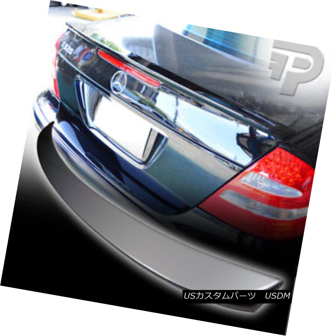 最安価格 エアロパーツ PAINTED Mercedes PAINTED BENZ W211 L-TYPE REAR L-TYPE BOOT TRUNK BOOT SPOILER #744 Silver▼ ペイントされたメルセデスベンツW211 L型後部トランクスポイラー#744シルバー?, アムリエ:90fdc04d --- esef.localized.me