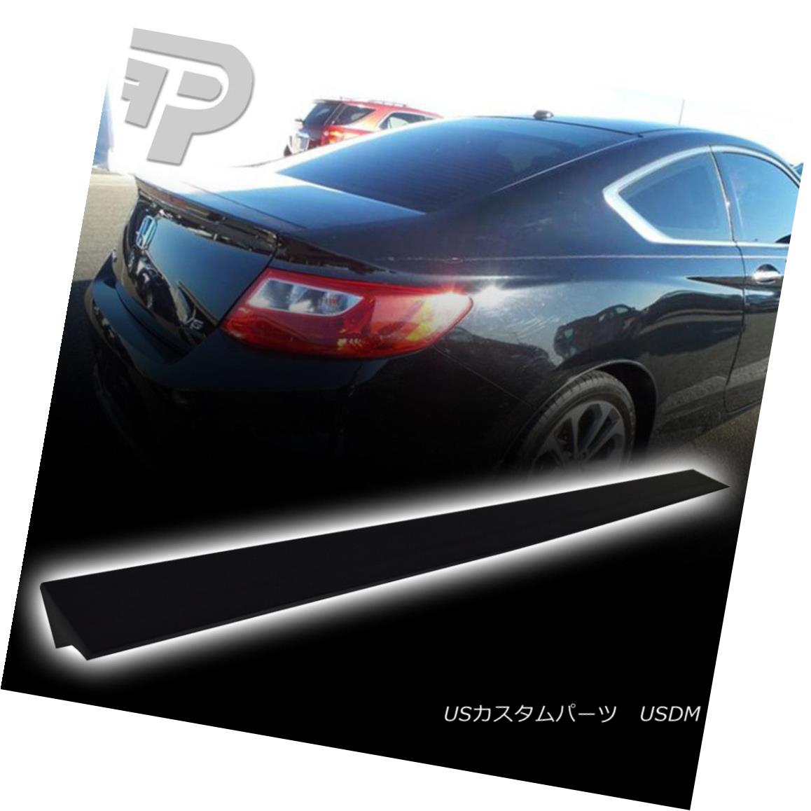 エアロパーツ Unpainted PUF Rear Roof Spoiler For HONDA Accord 9th 2017 EX-L LX Sedan 4DR HONDAアコード用未塗装PUFリアルーフスポイラー9th 2017 EX-L LXセダン4DR