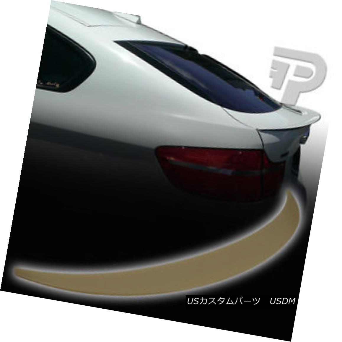 エアロパーツ BMW X6 E71 REAR BOOT TRUNK SPOILER P PERFORMANCE STYLE 08 14 ▼ BMW X6 E71リア・ブーツ・トランク・スポイラーPパフォーマンス・スタイル08 14?