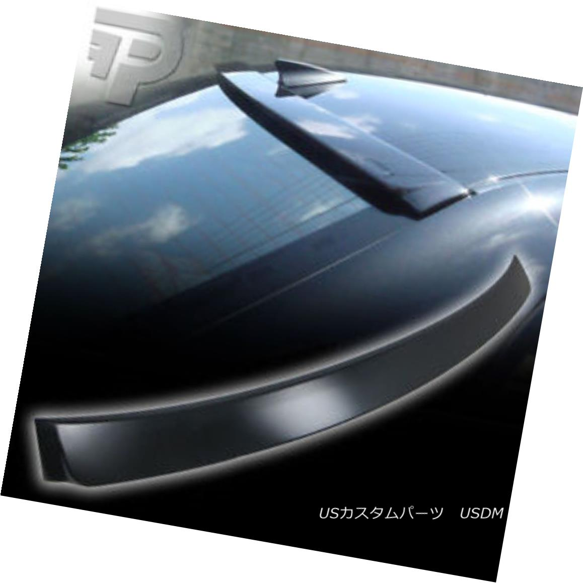 Painted For 2002-2006 NISSAN ALTIMA 4D-Rear Window Roof Spoiler Black