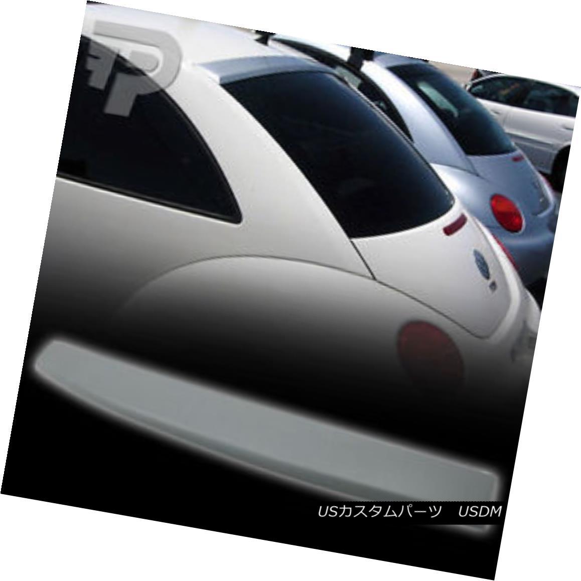 エアロパーツ UNPAINTED VOLKSWAGEN VW BEETLE 2D ROOF SPOILER REAR WING▼ アンパインドフォルクスワーゲンVW BEETLE 2Dルーフスポイラーリアウイング?