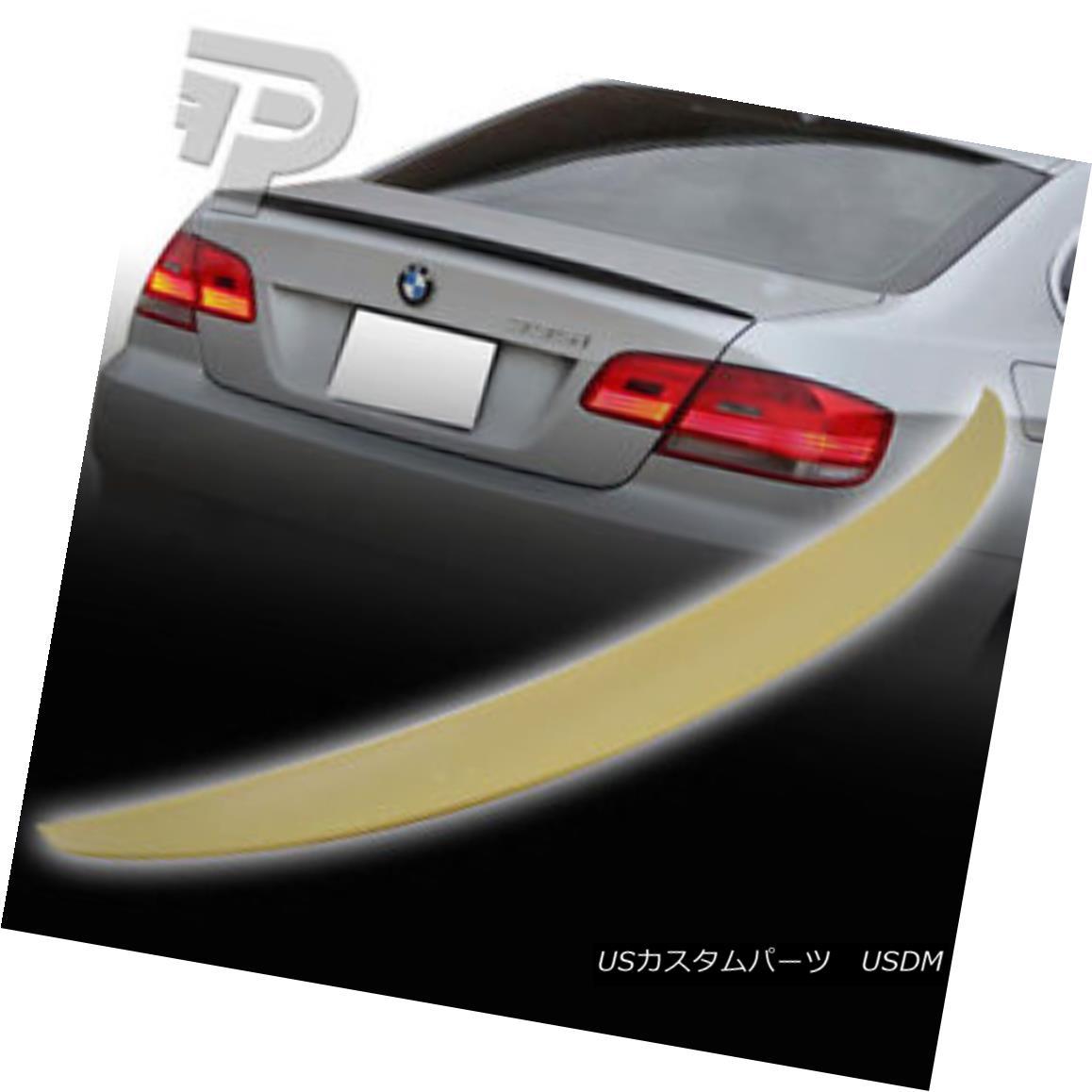 エアロパーツ BMW 3-SERIES E92 2D COUPE P PERFORMANCE TYPE BOOT REAR TRUNK SPOILER 07+▼ BMW 3シリーズE92 2Dコープ・パフォーマンス・タイプ・ブーツ・リア・トランク・スポイラー07+?