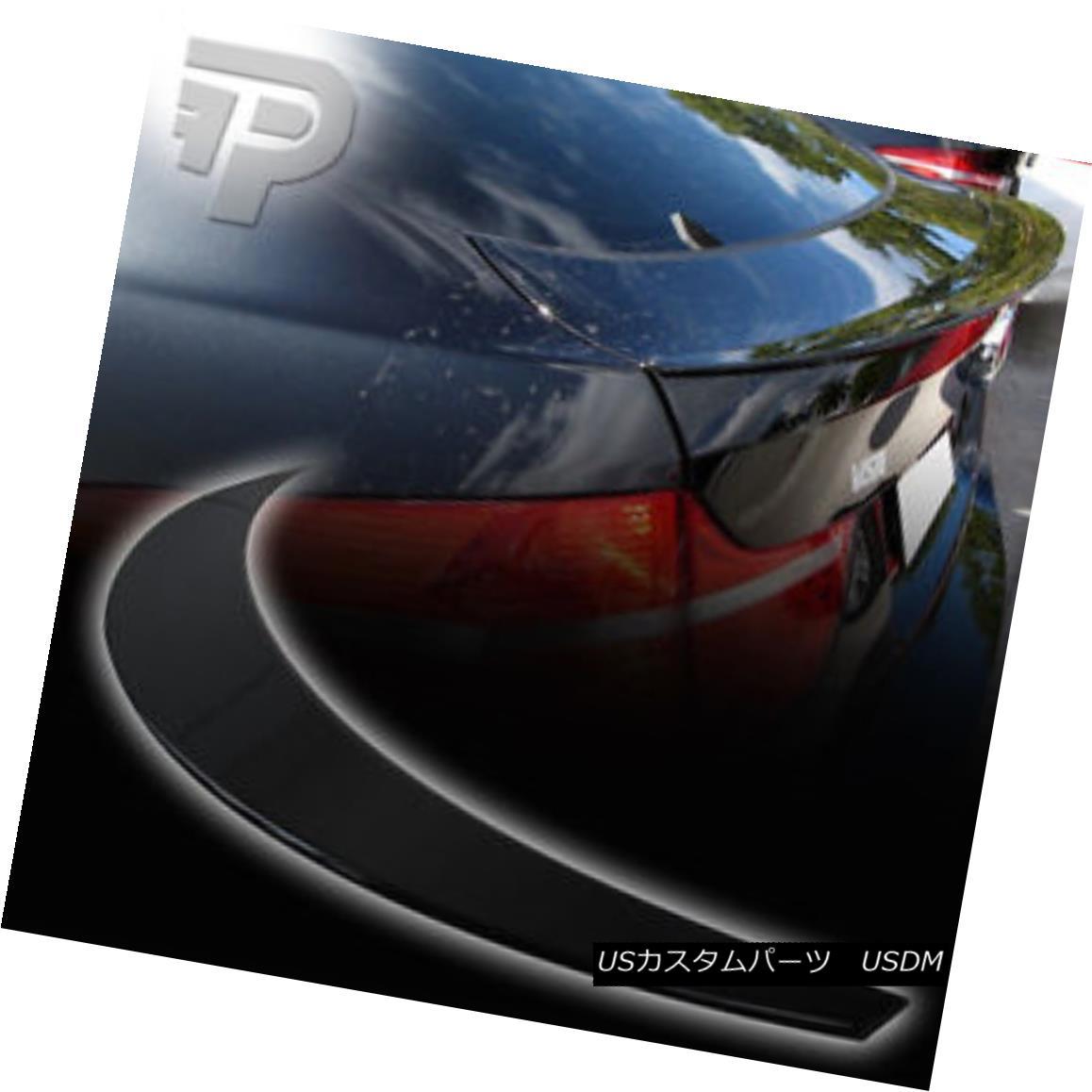 エアロパーツ PAINTED BMW X6 E71 REAR TRUNK BOOT SPOILER P PERFORMANCE STYLE 668 BLACK ▼ 塗装BMW X6 E71リアトランクブーツスポイラーPパフォーマンススタイル668ブラック?