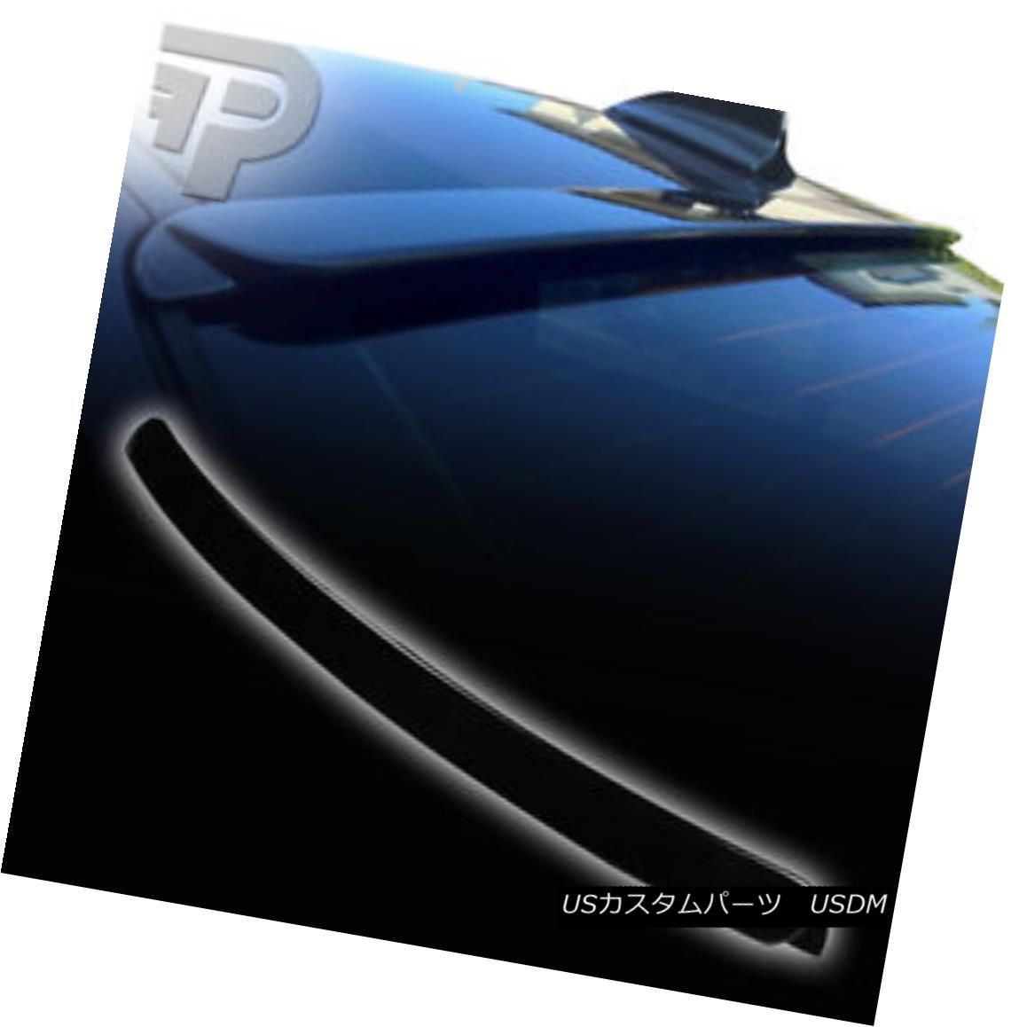 エアロパーツ PAINTED BMW E46 4D SEDAN A TYPE REAR WINDOW ROOF SPOILER WING 99-05 ▼ 塗装済みBMW E46 4DセダンAタイプリアウィンドウルーペスポイラーウイング99-05?