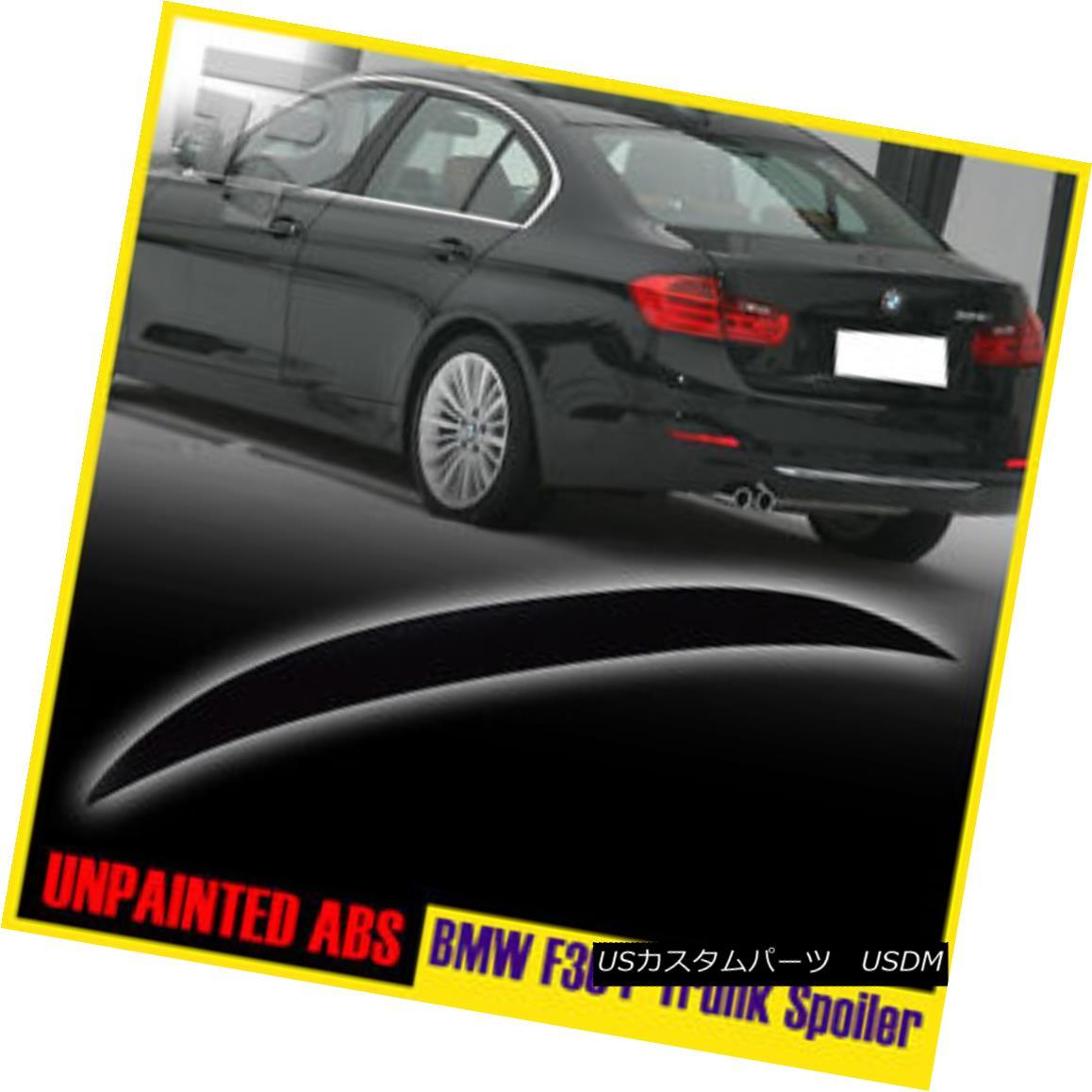 エアロパーツ BMW 3-Series F30 HIGH KICK Performance P-Type Rear Trunk Spoiler ABS 12-16 BMW 3シリーズF30 HIGH KICKパフォーマンスPタイプリアトランクスポイラーABS 12-16